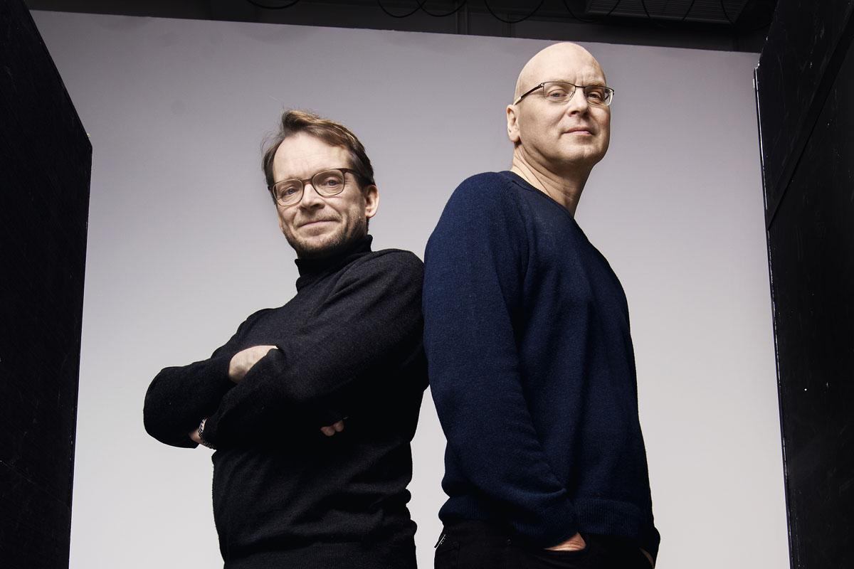 Vuoden 2016 palkitut: Teppo Sillantaus (vas.) ja Lauri Malkavaara.