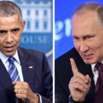 Presidentit tekevät historiaa. Yhdysvaltain Barack Obama ja Venäjän Vladimir Putin.