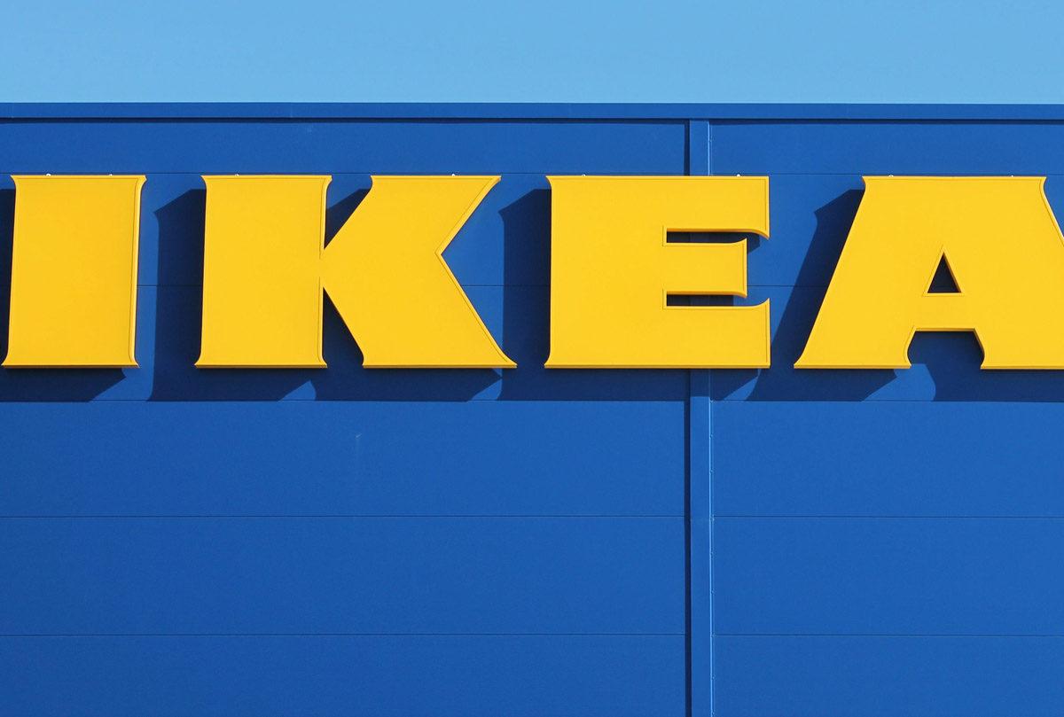 Ikea ei ole Lappeenrannassa. Ikean logo.