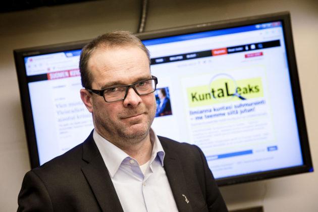 Suomen Kuvalehden päätoimittaja Ville Pernaa.