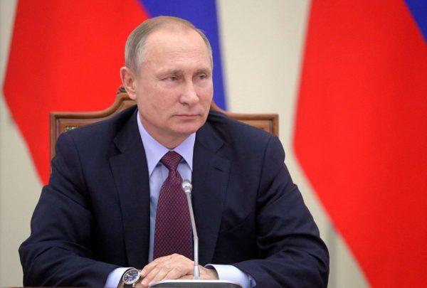 Venäjän presidentti Vladimir Putin Pietarissa 2. joulukuuta 2016.