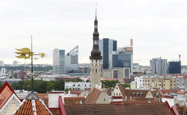 Tallinnan keskustaa 2014.