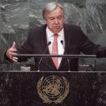 António Guterres aloitti YK:n pääsihteerinä 1. tammikuuta 2017.