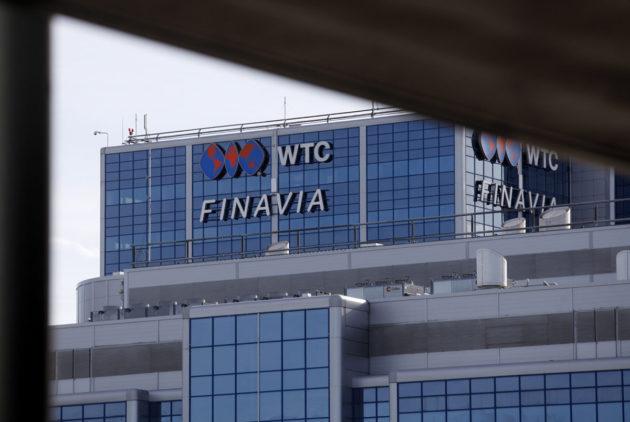 Finavian pääkonttori Helsinki-Vantaan lentokentällä Vantaalla.