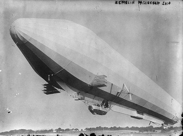 Vety on tuttu kaasuna, joka muun muassa nosti ilmaan 1900-luvun alun ilmalaivat. Kuvassa LZ7 matkustaja-alus.