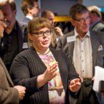 """Leena Malkki puhui tammikuun alussa Maanpuolustuskorkeakoulussa aiheesta """"Katsaus turvallisuustilanteeseen, pelkona terrorismi""""."""