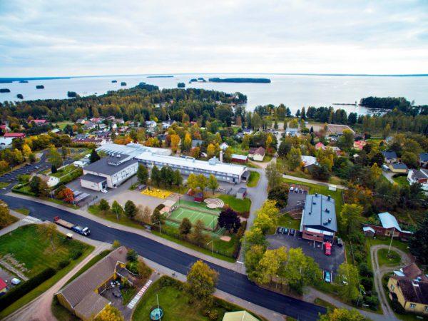Säkylä sijaitsee Satakunnassa Pyhäjärven rannalla.