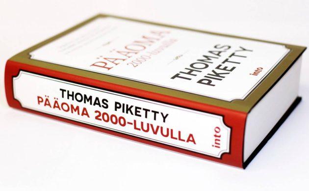 Thomas Piketty: Pääoma 2000-luvulla. Suom. Marja Ollila ja Maarit Tillman-Leino, jälkisanat Markus Jäntti. 629 s. Into Kustannus, 2016.
