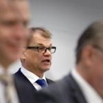 Pääministeri Juha Sipilä antoi pääministerin ilmoituksen eduskunnassa 8. helmikuuta 2017.