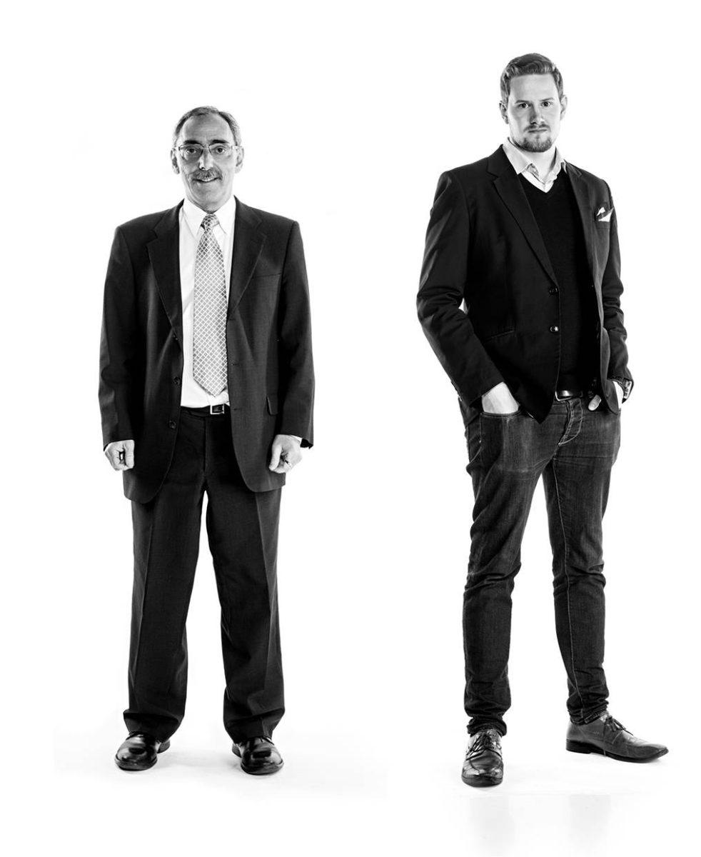 Kansanedustaja Ben Zyskowicz (kok) ja tutkija Ville-Veikko Pulkka.