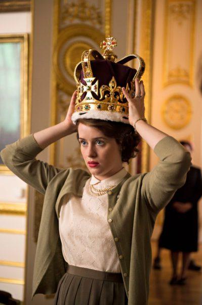 Claire Foy on nuori Elisabet II.