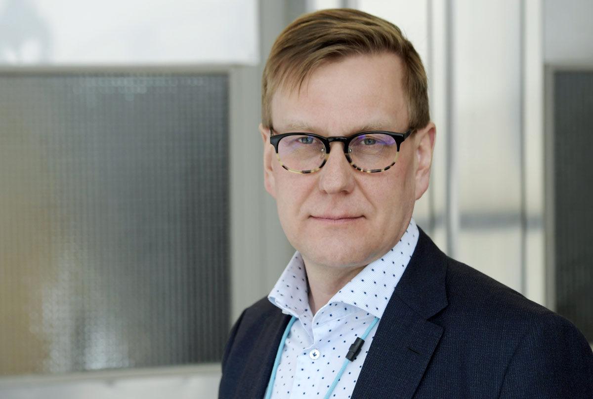 Ylen uutis- ja ajankohtaistoiminnan johtaja Atte Jääskeläinen.