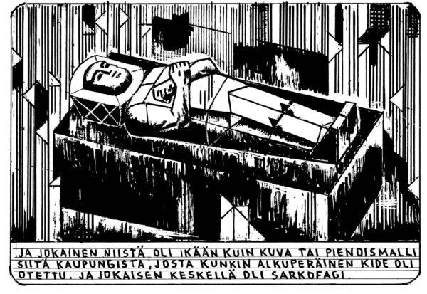 Kristalliolentojen kiteet kuuluvat Läskimooseksen (19/2014) luomiskertomukseen.