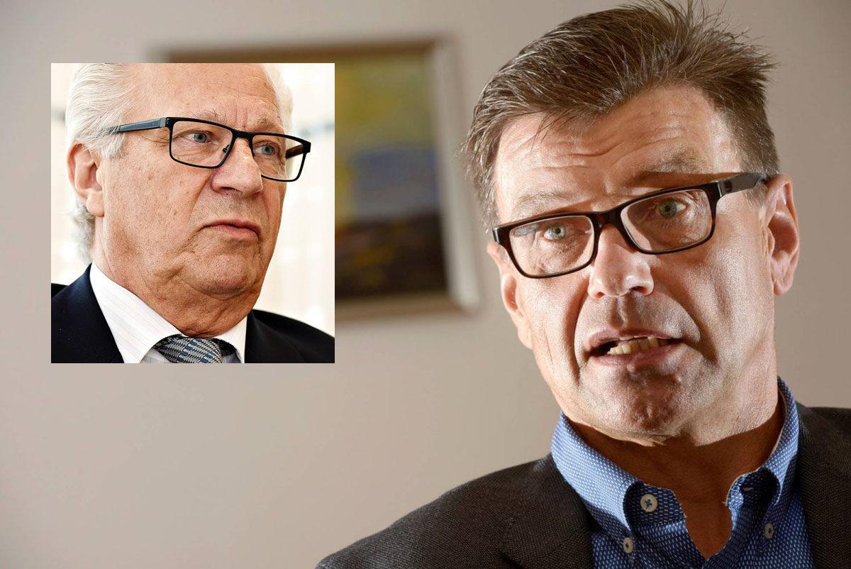 Matti Nissisellä (oik.) ja Jorma Kalskeella on pitkä virkaura.