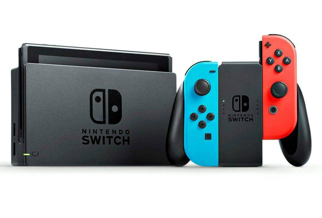 Nintendo Switch kulkee tarvittaessa mukana.