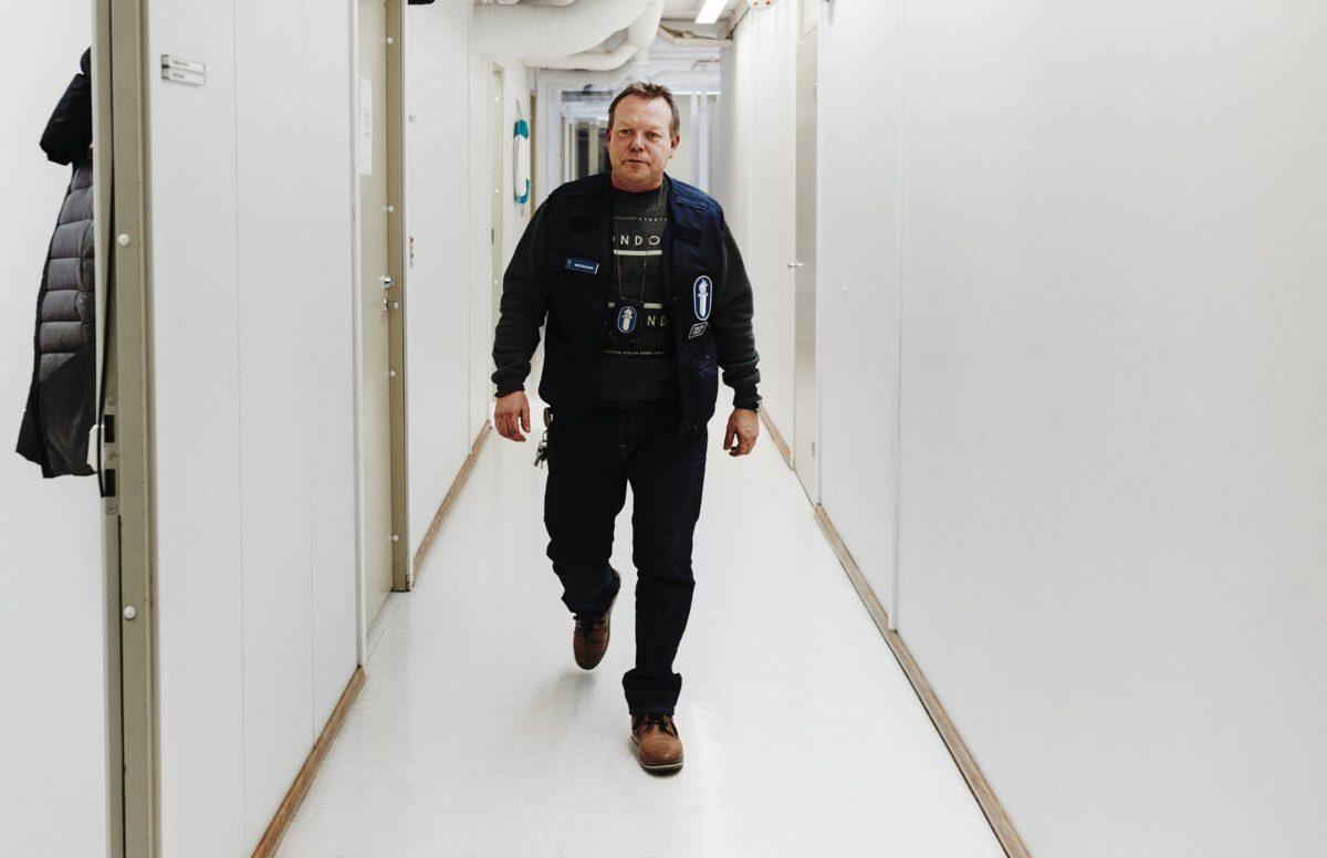 Vanhempi rikoskonstaapeli Jukka Kastikainen on Forssan lähipoliisi.