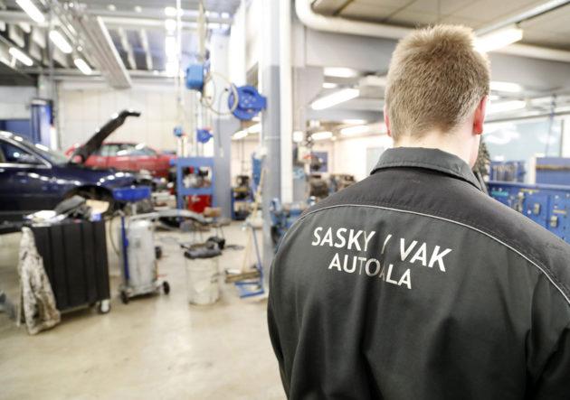 Vammalan ammattikoulu Sastamalassa voi opiskella muun muassa autoalaa.