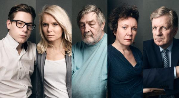 Klaus Mäkelä, Mari Laukkanen, Claes Andersson, Hanna Weselius ja Esko Aho.