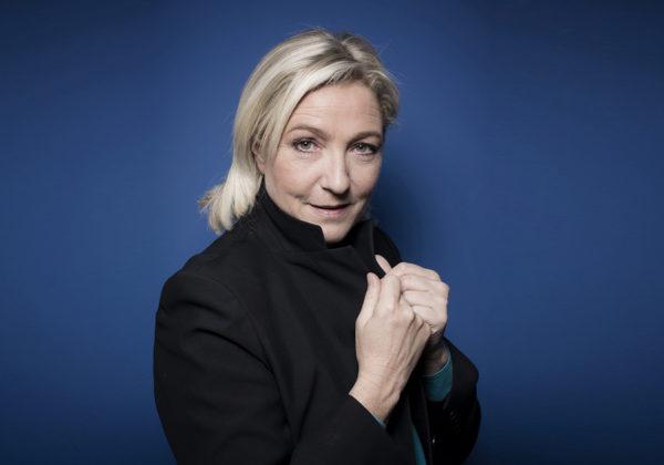 Marine Le Pen, Kansallisen Rintaman presidenttiehdokas.