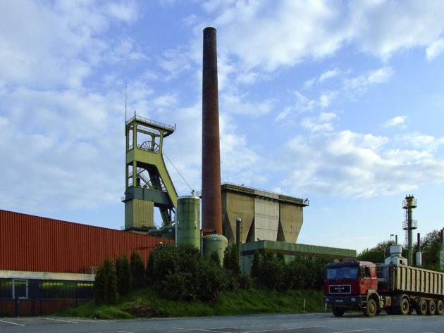 Prosper-Hanielin hiilikaivoksen rakennuksia Saksassa.