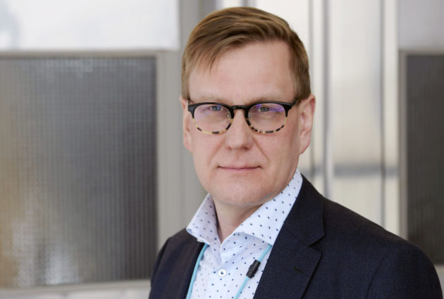 Ylen uutis- ja ajankohtaistoiminnan johtaja ja vastaava päätoimittaja Atte Jääskeläinen.