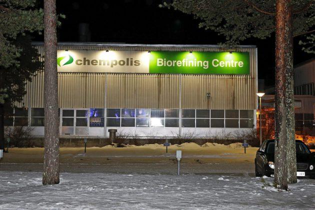 Chempolis-yhtiö toimii Oulussa.
