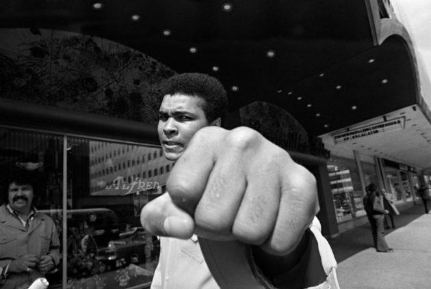 Muhammad Ali Philadelphiassa vuonna 1973.