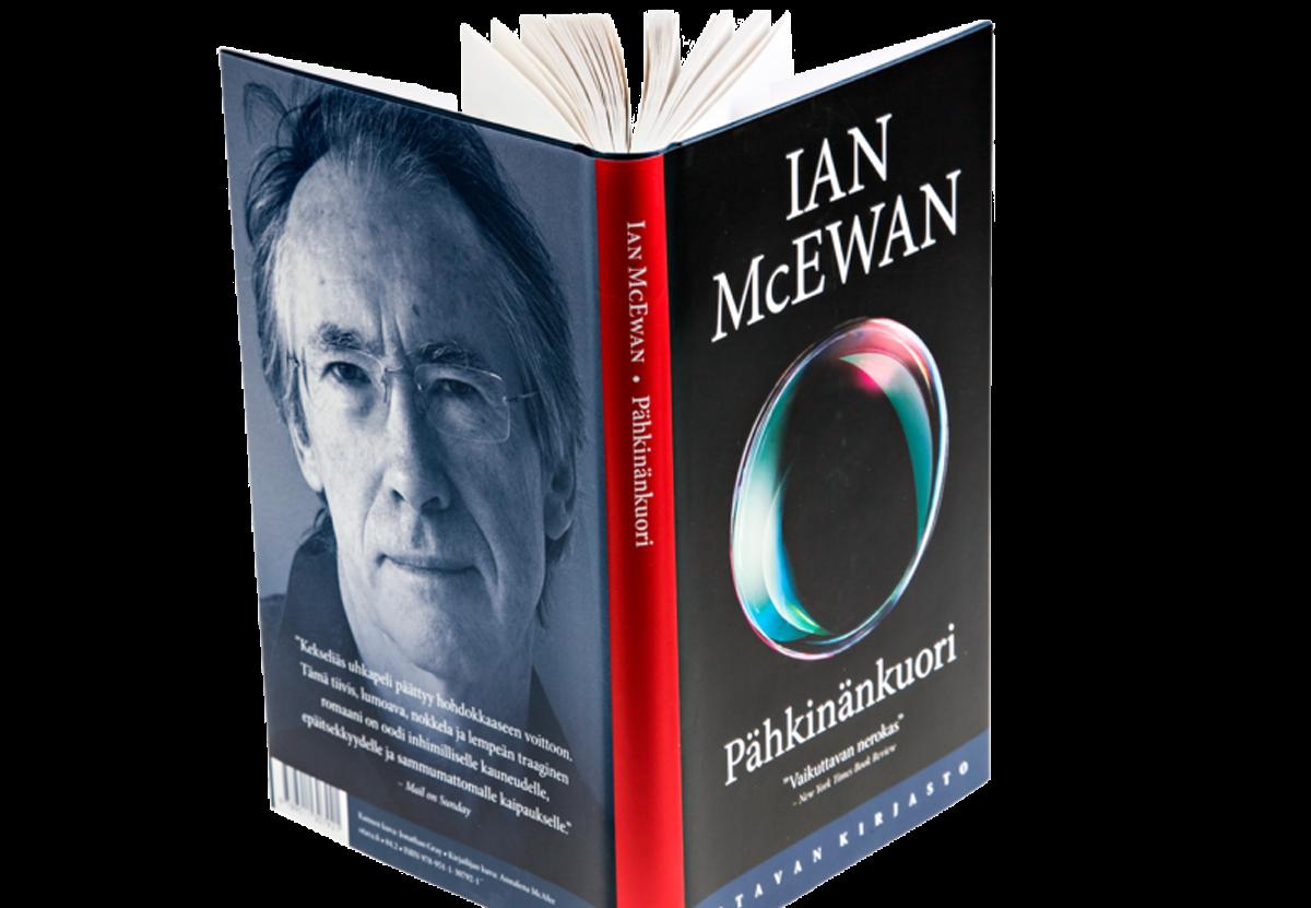 Ian McEwan: Pähkinänkuori. Suom. Juhani Lindholm. 206 s. Otava, 2017.
