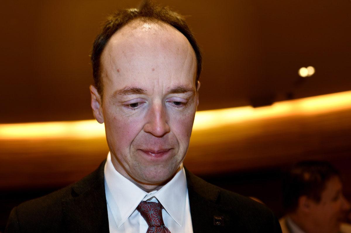 Perussuomalaisten europarlamentaarikko Jussi Halla-aho.
