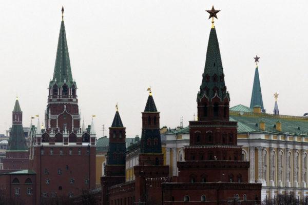 Moskovan Kreml 7. huhtikuuta 2017.