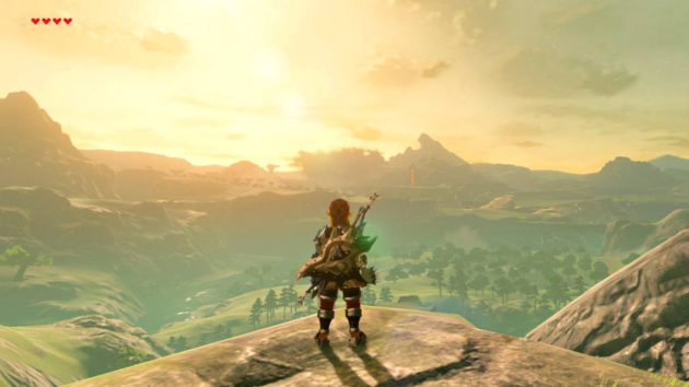 Breath of the Wild palaa Nintendon kasaripelin maisemiin.