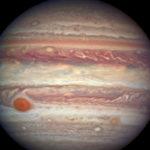 Hubble-avaruusteleskoopin lähikuva Jupiterista.
