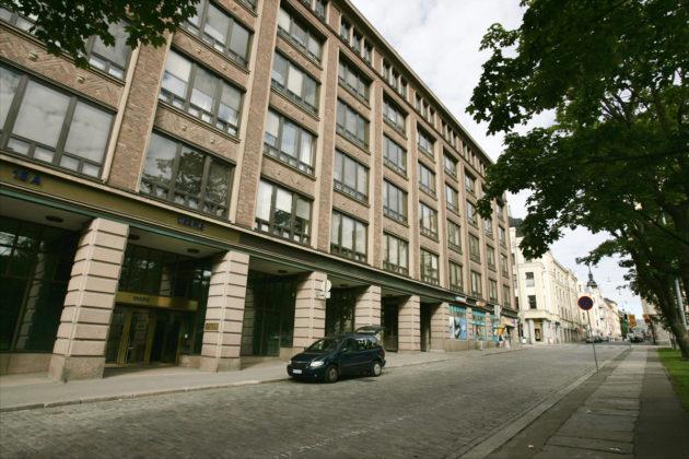 Euroopan kemikaalivirasto ECHA sijatisee Helsingissä Annankadulla. Arkistokuva.