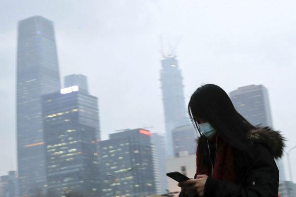 Savusumua Pekingissä Kiinassa 21. helmikuuta 2017.
