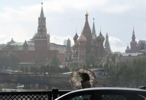 Kreml Moskovassa 2. kesäkuuta 2017.