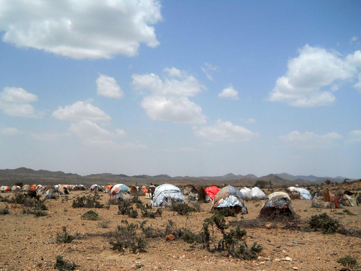 Kuivuusaluetta Somalimaassa.