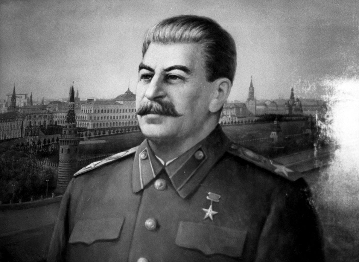 Josif Stalinin muotokuva.