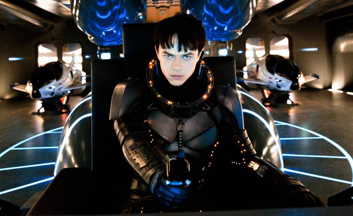 Dane DeHaan on Luc Bessonin Valerian.