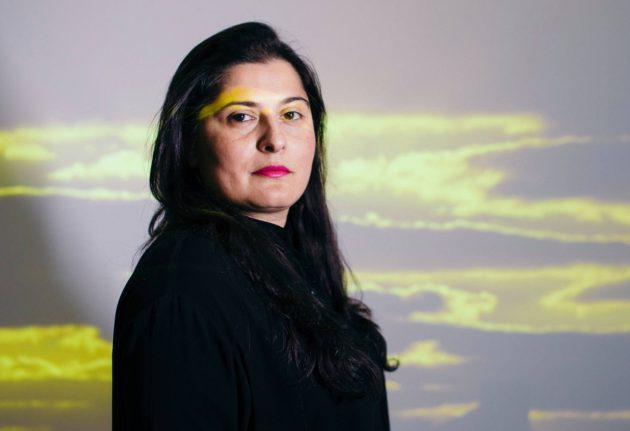 Sharmeen Obaid-Chinoy vieraili Turussa toukokuussa 2017.