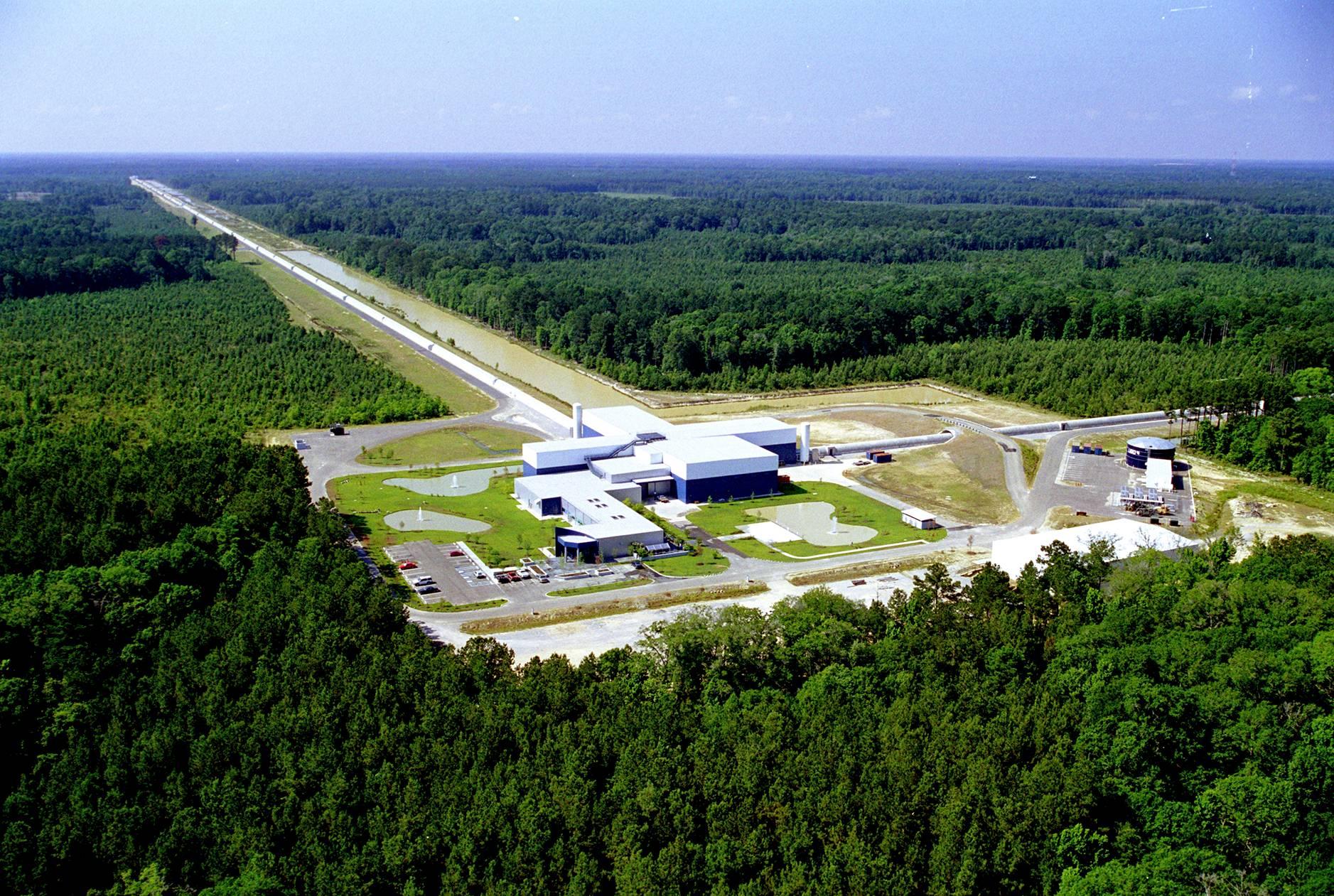 Livingstonissa Louisianassa sijaitseva LIGO-observatorio.