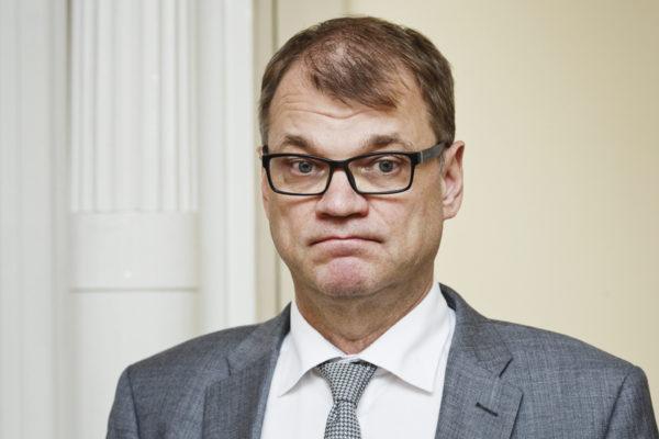 Pääministeri Juha Sipilä 5. heinäkuuta 2017.