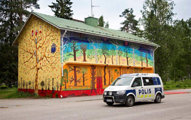 Entinen teollisuuskaupunki Mänttä-Vilppula on nykyisin taidekaupunki.
