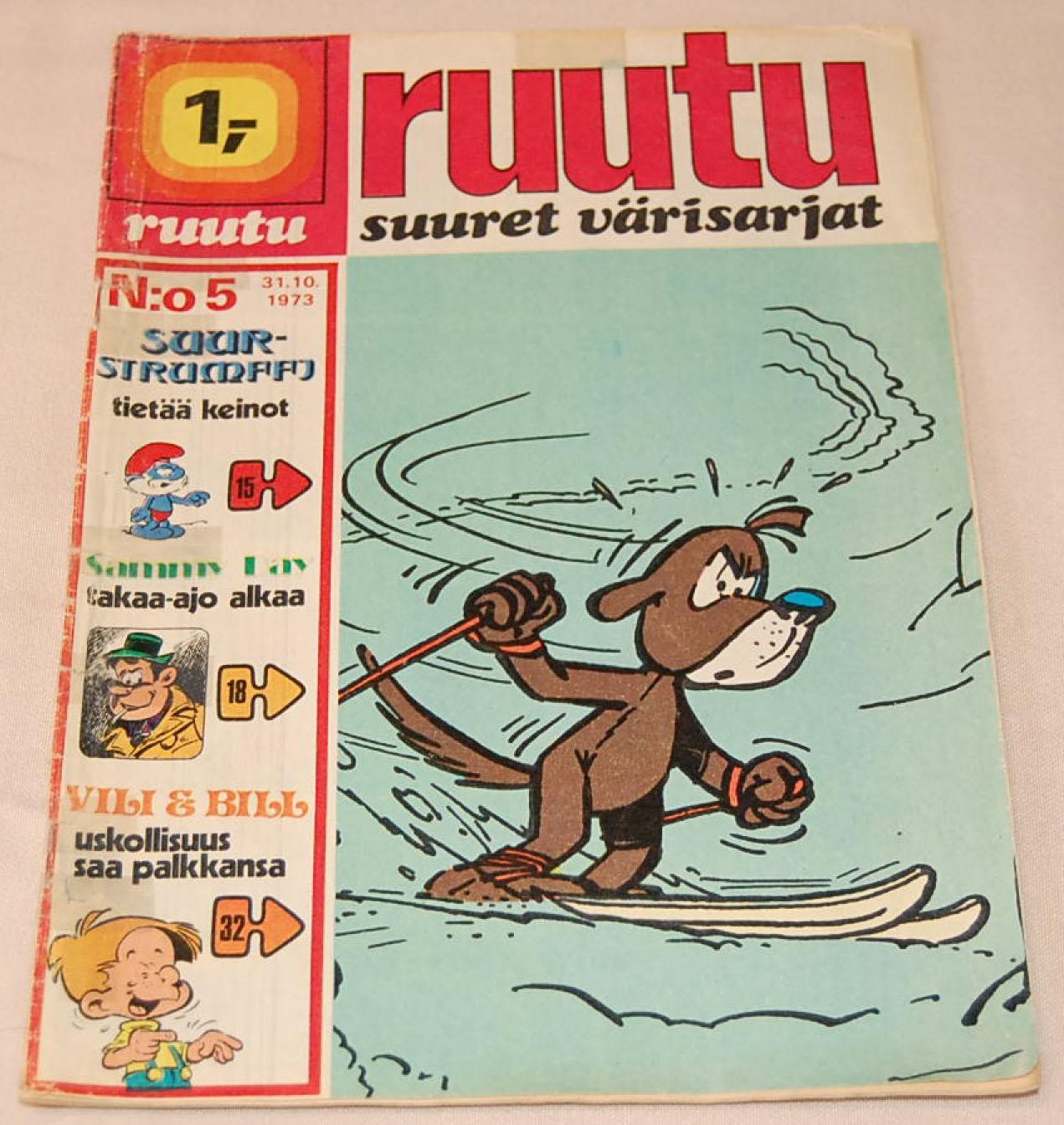 Vanhoja Ruutu-lehtiä löytyy divareista ja niiden verkkokaupoista.