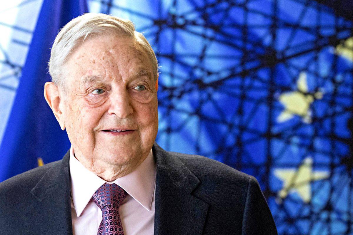 Unkarilaissyntyinen miljardööri George Soros Brysselissä 27. huhtikuuta 2017.