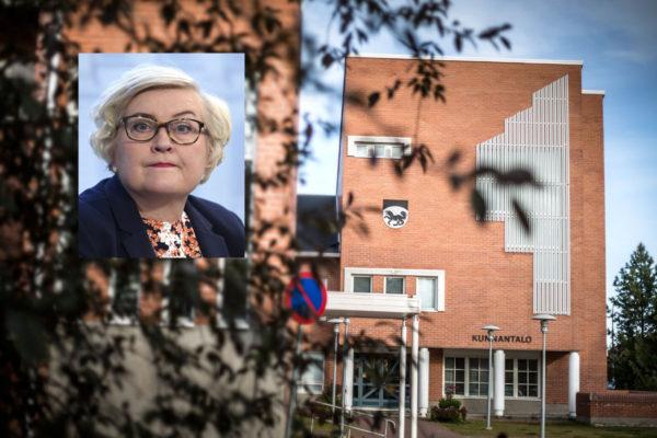 Ajanpeluu Kittilässä ei tule kysymykseen, sanoo kunta- ja uudistusministeri Anu Vehviläinen (kesk).