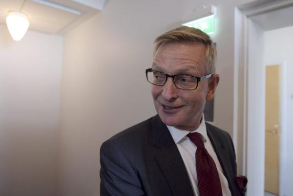 Valtioneuvoston kanslian omistajaohjausosaston päällikkö Eero Heliövaara tarkastusvaliokunnan kokouksessa eduskunnassa Helsingissä 14. syyskuuta 2016.