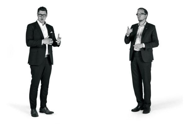 Antti Lindtman ja Simon Elo.