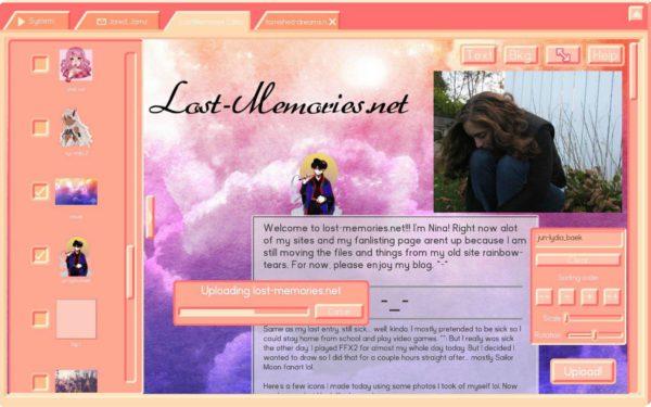 Lost memories dot net.