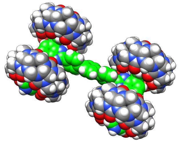 Maailman pienimmällä monsteriautolla on mittaa 3,5 nanometriä.