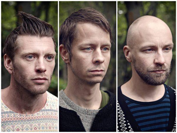 Múm: Örvar Smárason, Gunnar Tynes ja Samuli Kosminen.